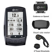 meilan M1 GPS Navigation Bike Computer Bluetooth speedometer Connect with Cadence/HR Monitor (not include)
