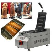 1pc-np-522-gas-type-male-penis-hot-dog-penis-waffle-maker-iron-machine-baker