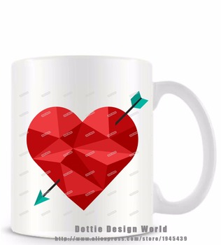 Online shop it takes a big heart to shape little minds funny geometric heart arrow funny novelty travel mug ceramic white coffee tea milk cup personalized birthday easter negle Choice Image