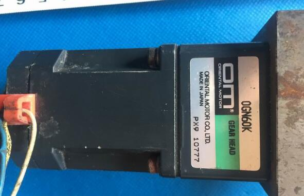 AC servo motor OGN60K , Used one , 90% appearance new , 3 months warranty , fastly shipping plc cpl9210a used one 90