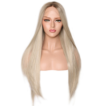 Synthetic Lace Front Wig Straight Wigs F