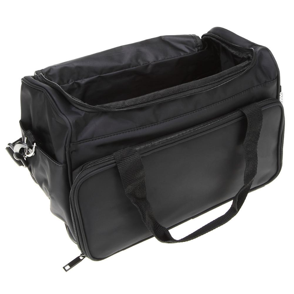 Image 3 - Professional Hairdressing Tool Bag Salon Hair Tools Shoulder Bag Large Capacity Hair Stylist Cosmetic Supplies Accessory Handbag-in Styling Accessories from Beauty & Health