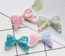 Bow-Knot DIY Resin Accessories Mobile Phone Shell Material Refrigerator Stickers Home Decoration