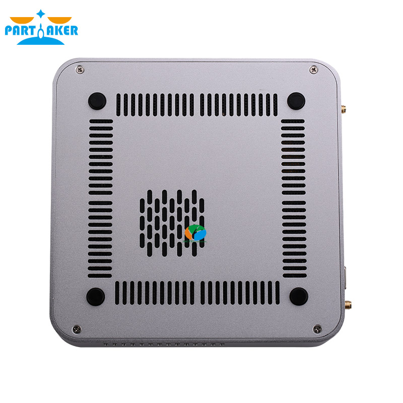 Intel Core i7 7700HQ Windows10 Mini PC Linux With DP VGA HDMI LAN 6*USB DDR4 32GB RAM Max AC Wifi Mini Computer