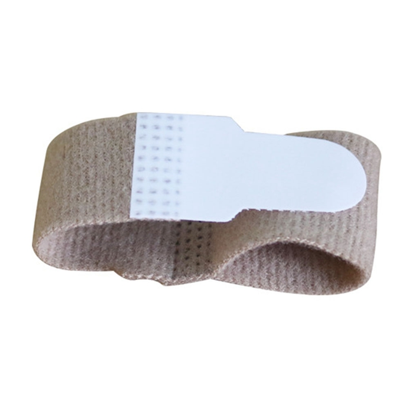 1PC Fabric Toe Finger Straightener Hammer Toe Hallux Valgus Corrector Bandage Toe Separator Splint Wrap Foot Stretcher Care Tool