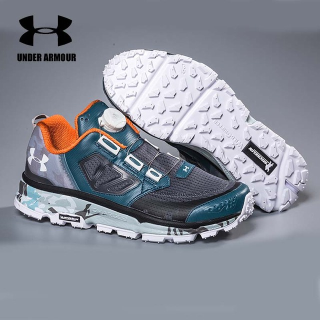 Under Armour Men's Running Walking Shoes Outdoor Skid-Resistance Sports Shoes Breathable Comfort sneakers Zapatillas Hombre