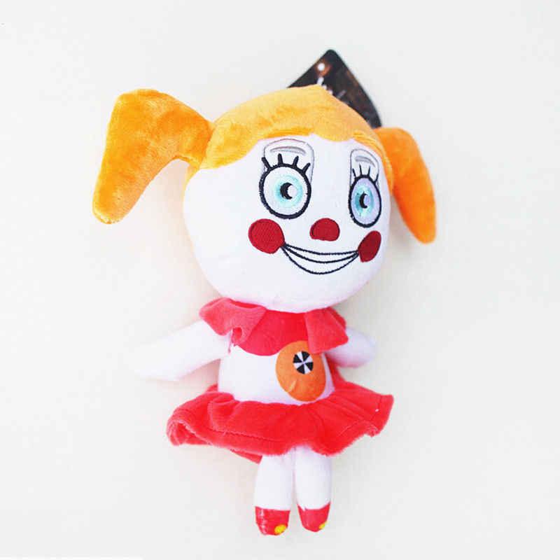 FNAF мягкие игрушки Five Nights At Freddy's Sister расположение цирк ребенок баллора Ennard Funtime Foxy Фредди плюшевый Коллекционная кукла игрушка