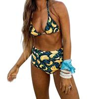 2017 Sexy Bikini Trikini Swimwear Women Swimsuit Brazilian Bikini Set High Waist Beachwear Lace Bathing Suit