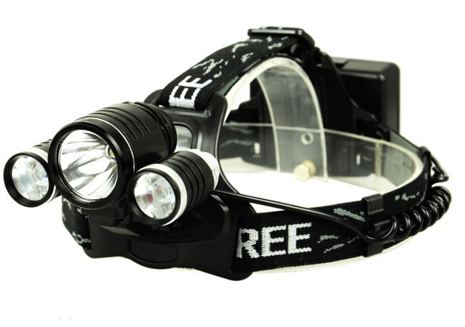 buy head lamp light led headlight 3t6 5000 lumens headlamp 2 18650 4000 mah. Black Bedroom Furniture Sets. Home Design Ideas