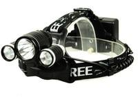 Head Lamp Light LED Headlight 3T6 5000 Lumens Headlamp 2 18650 4000 MaH Battery Charger Car