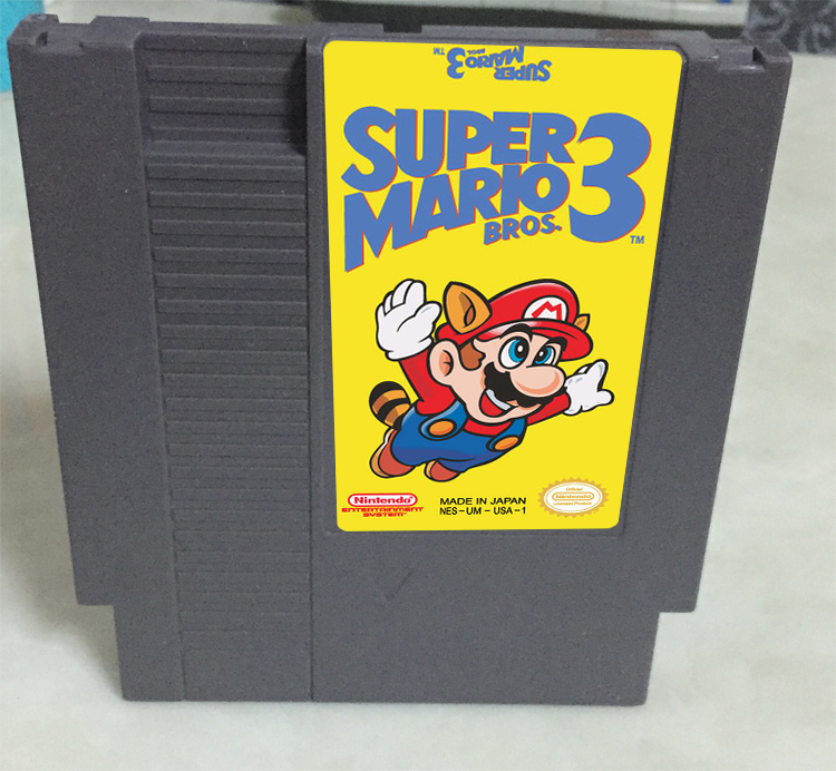 New arrival 72 pins 8 bit game cartridge free shipping — brothers 3