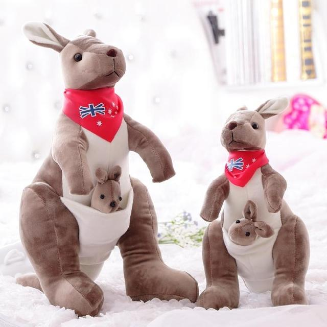 Kangaroo parent-child plush doll australia toy dolls doll child birthday gift new arrival g custom l5 jazz guitar ces archtop semi hollow electric guitar orange color in stock free shipping