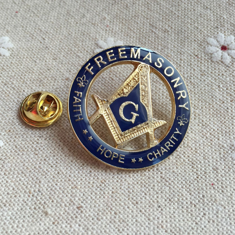 Masonic Master Mason Prince Hall Affiliated Large Lapel Pin Equinox Masonic Regalia Blue Lodge PHA Free and Accepted Masons