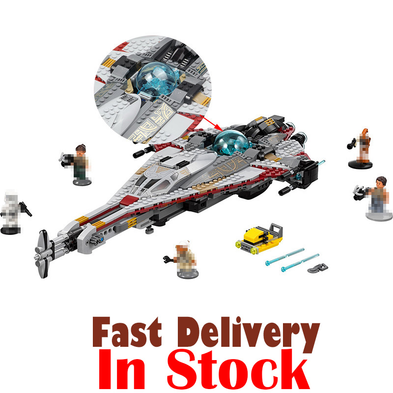 LEPIN 05113 The Arrowhead Star Clone Wars Building Blocks Bricks Toys DIY For Kids Model Compatible with legoINGly 75186 678pcs diy star wars resistance troop transporter model building blocks compatible with starwars legoingly bricks toys kids gift