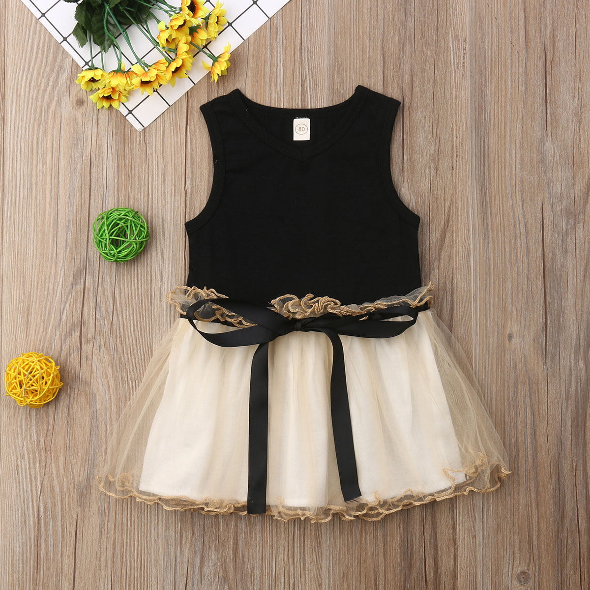 Toddler Baby Girl Clothes Sleeveless Bowknot Tutu Tulle Dress Princess Party Pageant SundressToddler Baby Girl Clothes Sleeveless Bowknot Tutu Tulle Dress Princess Party Pageant Sundress