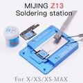 MIJING Z13 BGA приспособление для IPHONE X/XS/XSMAX PCB Держатель джиг доска обслуживания платформы