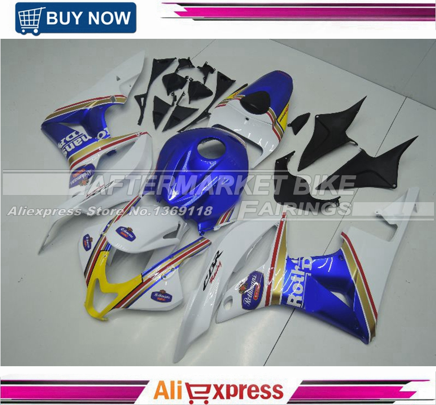 ROTHMANS 2007 2008 CBR600RR ABS Plastic Motorcycle Injection Moulding Bodywork For Honda 07 08 F5 Fairing  for honda cbr 600 rr 2007 2008 injection abs plastic motorcycle fairing kit bodywork cbr 600rr 07 08 cbr600rr cbr600 rr cb33