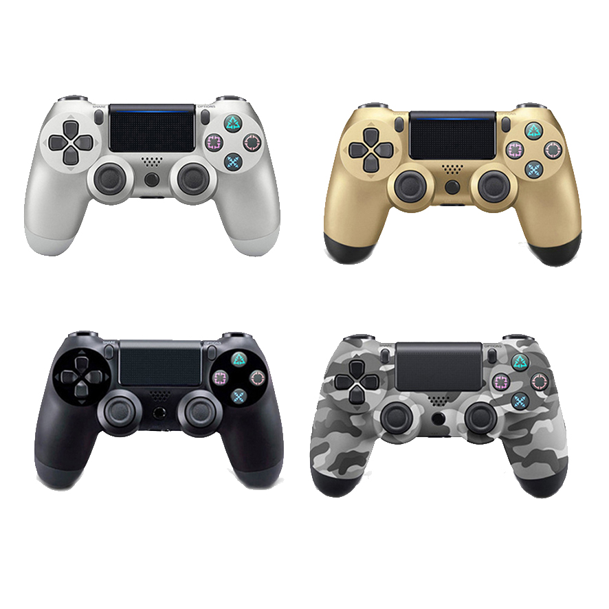 Bluetooth Wireless Gamepad Controller For Sony PS4 PlayStation Dual Shock 4 Vibration Joystick Gamepads Controllers Retail Box 2018 new upgrade version 5 50 bluetooth wireless gamepad joysticks for playstation4 dual shock 4 controller ps4 controller