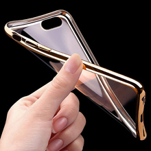 Luxury Silicone Case For iPhone 5 / 5S / SE Transparent Cover 0.5 mm Ultra Slim Coque Fundas For iPhone 8 7 6S 6 Case