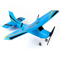RC Airplane Trainer Plane RTF Ready To Fly Good for Beginner Wingspan Foam Hand Throwing Glider RC Plane Toys Kids Gifts