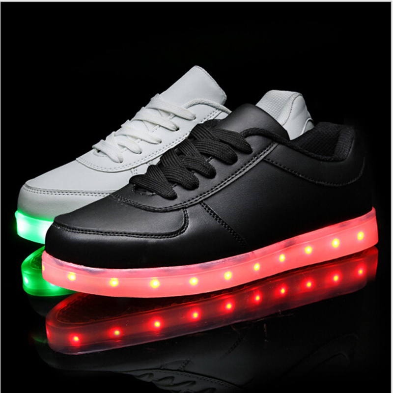 Mother & Kids The Cheapest Price Kids Led Luminous Sneakers 2018 New Brand Breathable Usb Rechargeable Brand Child Air Mesh Boys Girls Sports Shoes With Lights