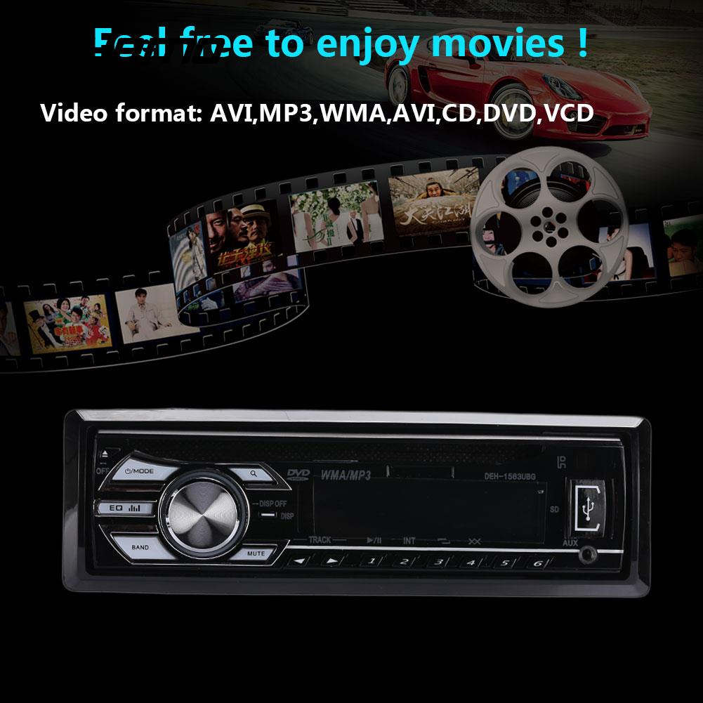 Autoradio Vehemo AUX DVD lecteur MP3 lecteur Audio DVD Auto haute performance moteur intelligent USB