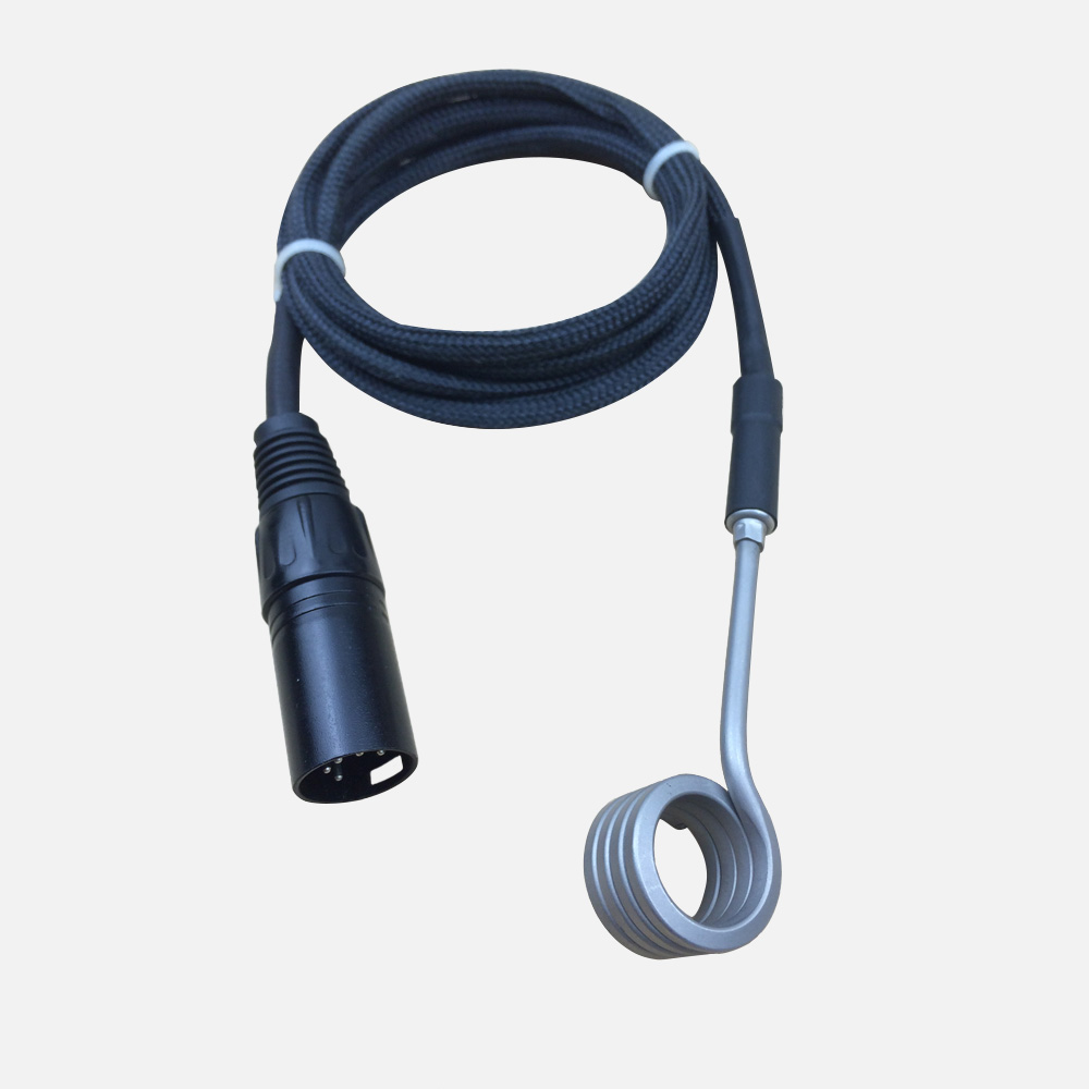 ФОТО ID16mm Dnail Enail 120v 100w Coil Heater K Thermocouple with 1.5m Blackkevlar for Home Smoker