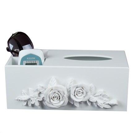 Модные таблице коробка ткани журнальный столик дистанционный пульт ткани коробка для хранения