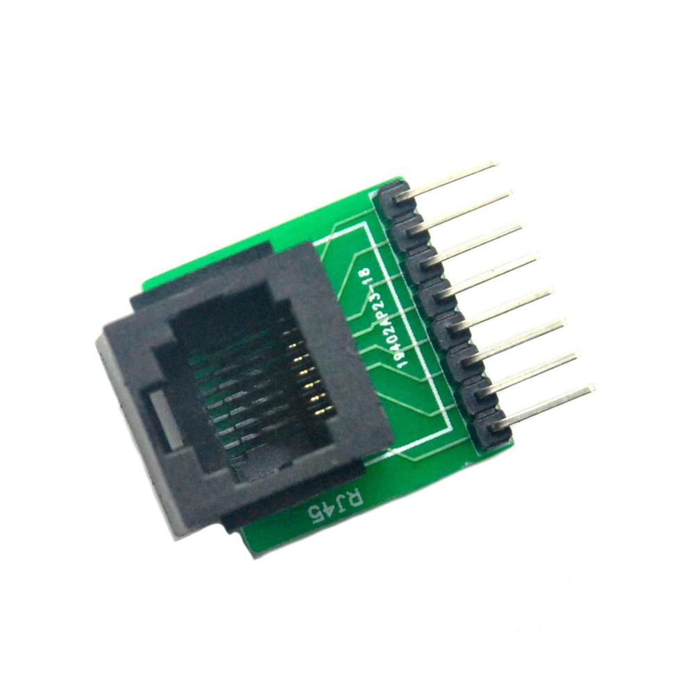 2pcs RJ45 8 pin Connector and Breakout Board Kit in Computer Cables Connectors from Computer Office