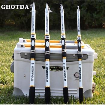 GHOTDA Telescopic Super Hard Fishing Rod