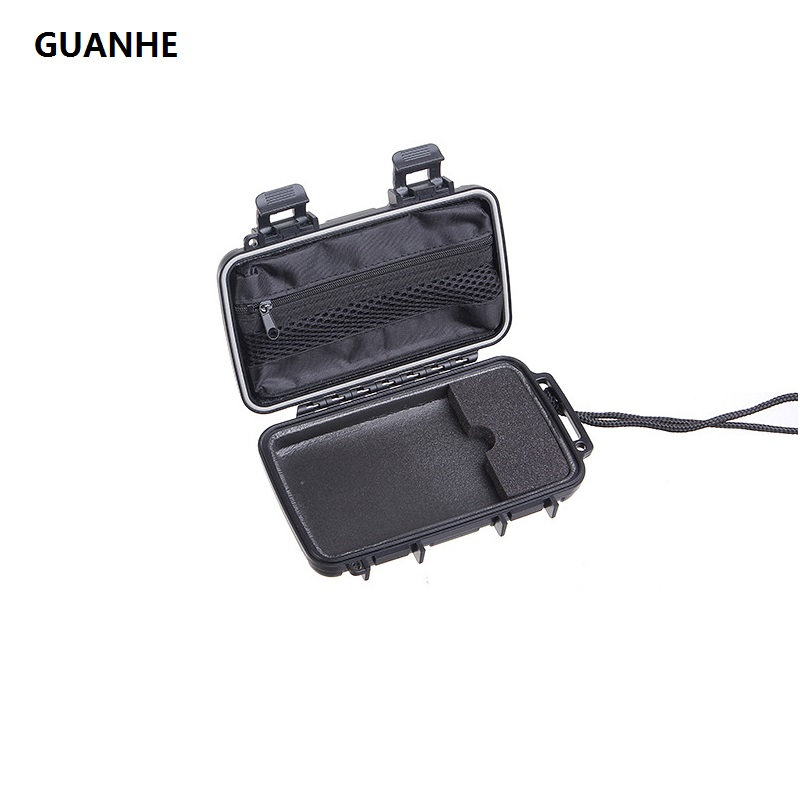 GUANHE Military Waterproof,dustproof, anti-pressure Carrying case For 2.5 Hard Drive Disk HDD digital storage Protect bag Phone