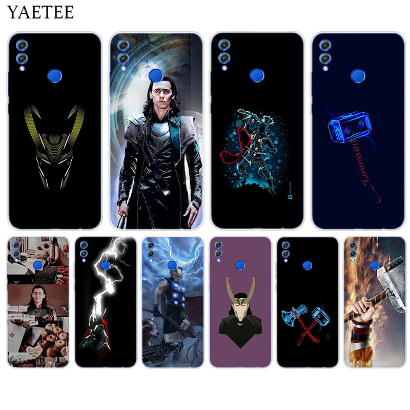 Loki Helmet Thor Hammer Luke 2 For Huawei Honor Mate 7 7A 8