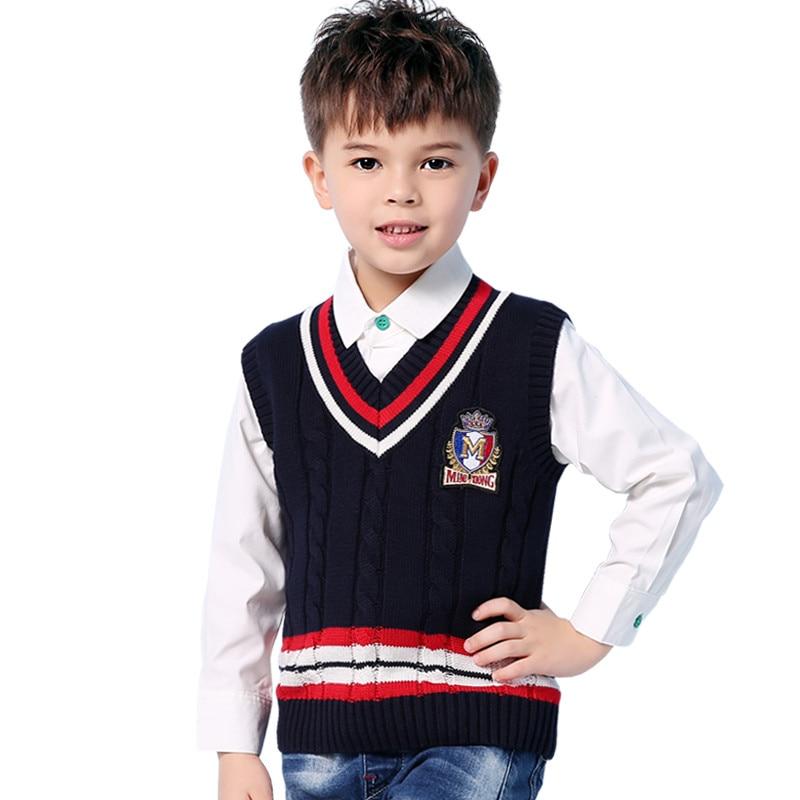 f34b738b4 Newborn Baby Boys Sweater Vest Fashion V Neck Sleeveless Toddler ...