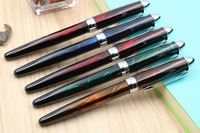 WING SUNG students PEN practicing Stainless steel Ice flowers color Fountain Pen Fountain Pens Education & Office Supplies -