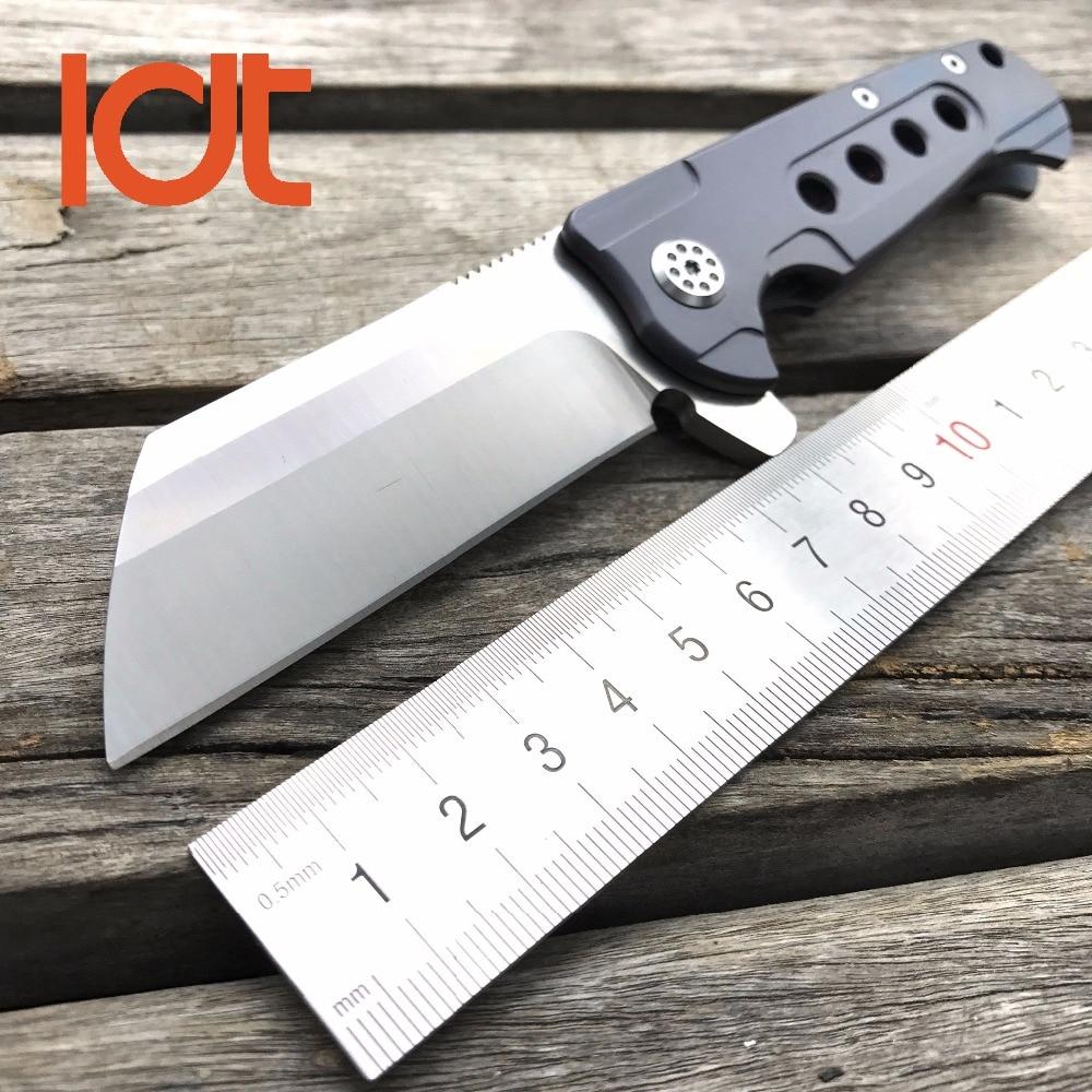 LDT Rad font b Tactical b font Folding font b Knife b font D2 Blade Titanium