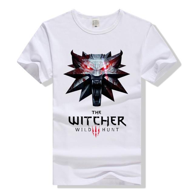 e4ff8d86505a3b TEEWINING New Arrival The Witcher 3 T Shirt Men Women Tee Tshirt Print T- Shirt Sumer Fashion Wild Hunt