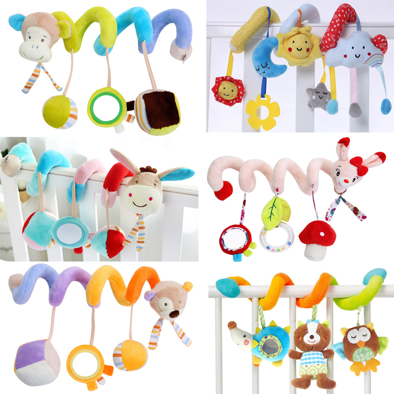 Baby Toy Cartoon Animal Shape Wristband Super Soft Rattle Bracelet Bracelet Decoration Toys For Children Gifts By Scientific Process Welding Equipment