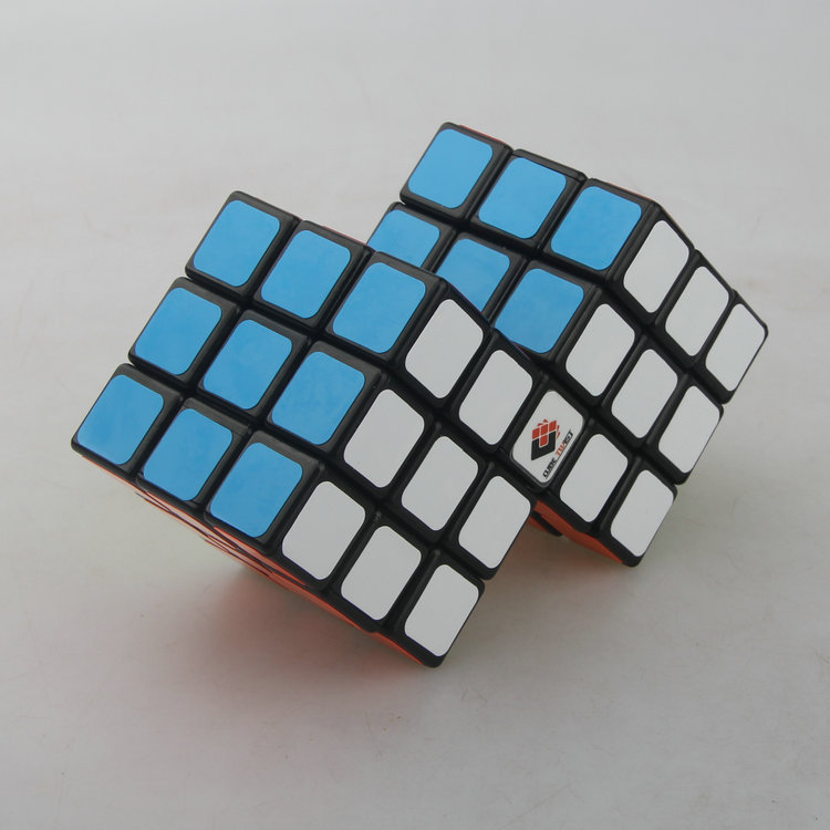 Easy Eight 2 in 1 Conjoint Cube Speed Magic Cube Puzzle Game Toys- 57mm