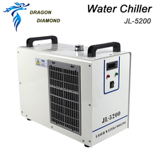 JL5200 Industry Air Water Chiller for CO2 Laser Engraving Cutting Machine Cooling 80W 100W Laser Tube cw3000 industrial chiller for water cooling 60 80 100w co2 cnc laser tube 220v 50hz zurong
