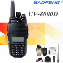 TYT Walkie talkie Dual band VHF-UHF th-uv8000d 10 W Transceptor de rádio amador portatil 10 km th-uv8000d walky talky