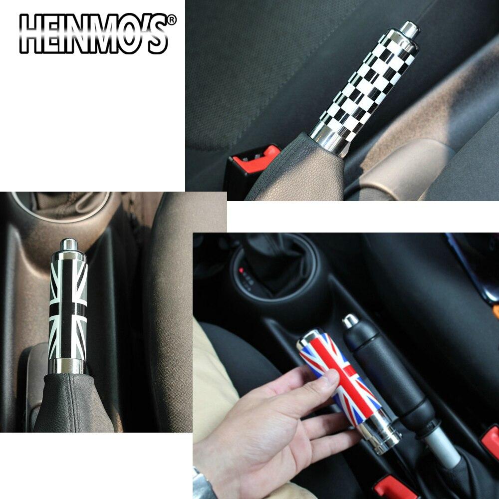 Frein à main pour Mini Cooper Clubman R55 R56 R53 R57 poignée de protection de frein à main d'urgence Tube de style accessoires d'intérieur de voiture