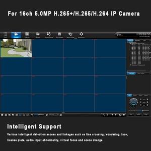 Image 5 - 16CH 5MP 1HDD NVR H.265 +/H.265/H.264 CCTV UHD DVR Netzwerk Video Recorder Onvif 2,6 IP Kamera 1 SATA P2P Wolke AEeye2.0
