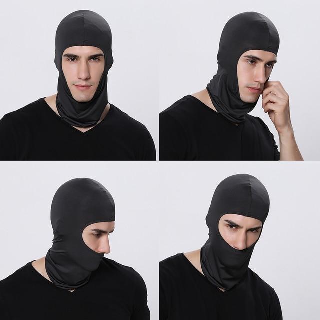 WOSAWE Integrated Motorcycles Balaclava Face Mask Bike Bicycle Hat Bandana Sport Caps Full Cover Face Shield Motocross Headwear 4
