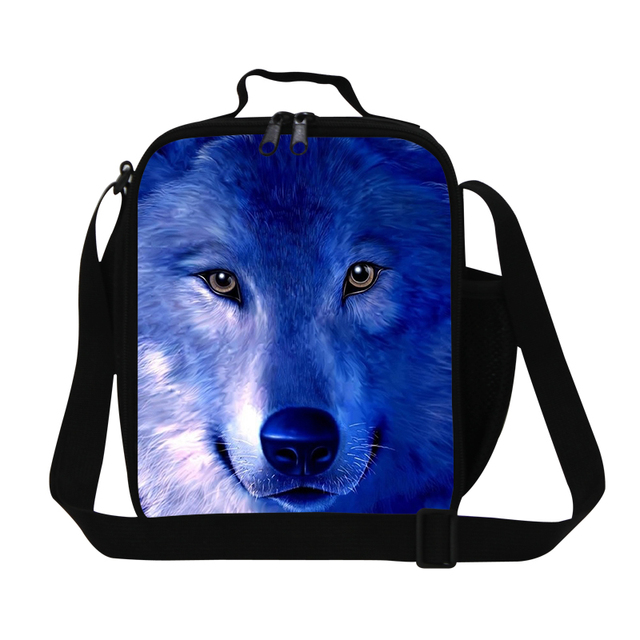 7bfb2ed14781 small lunch bags for teenager boys,Wolf lunch container Animal printed  insulated lunch cooler bag for children kids meal bag-in Lunch Bags from ...