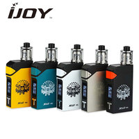 Clearance 200W IJOY Solo Version 2 Starter Kit & 2ml IJOY Limitless Sub Ohm & Tank Taste Control Ecig Vape Kit VS Voopoo Drag 2