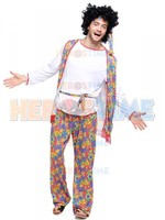 Adult Mens Hippie Fancy Halloween Costume