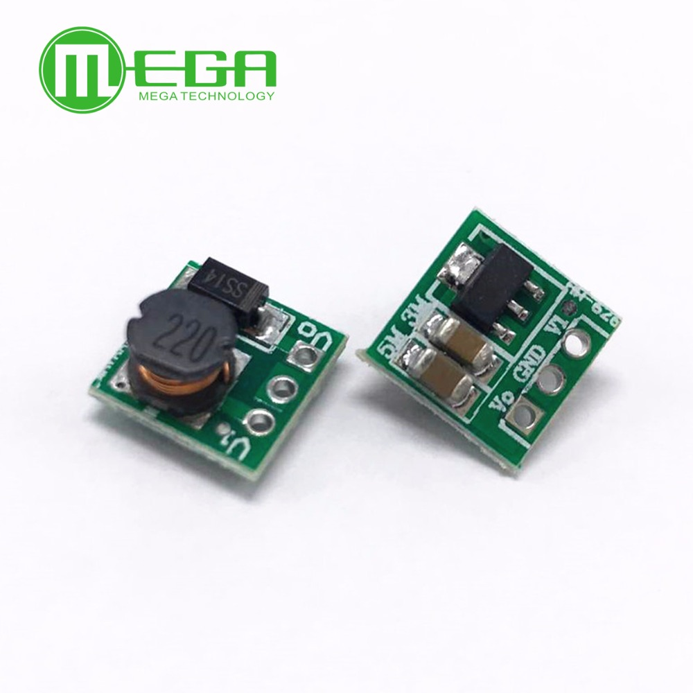 DC-DC 0.8-3.3V to 3.3V 500mA Step Up Boost Power Module For Arduino Voltage Converter Mini Board