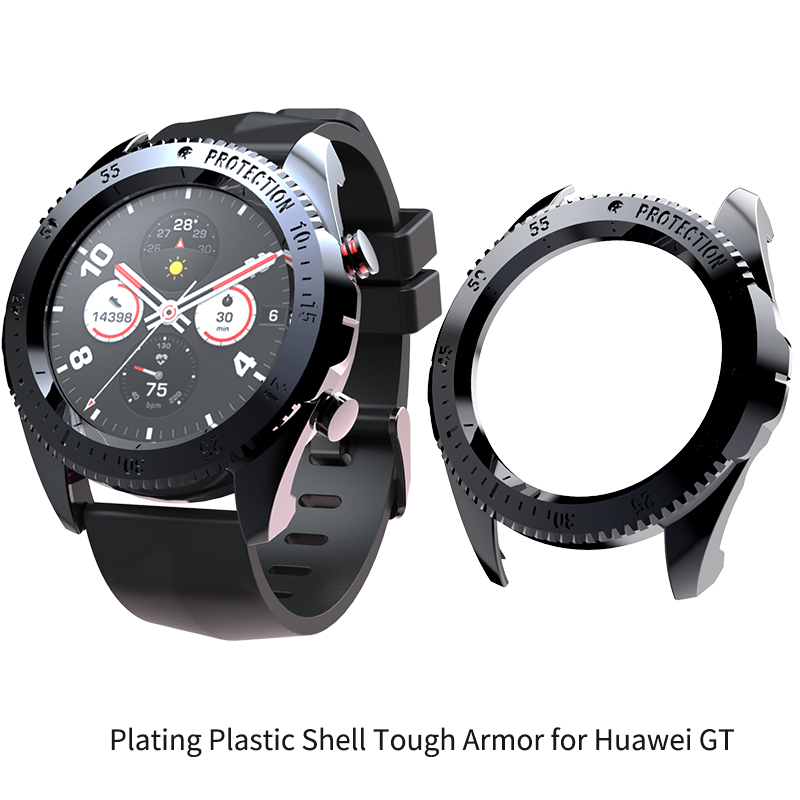 PC Plating Plastic Shell Tough Armor For Huawei Watch GT SIKAI Protective Watch Case For Huawei Honor Magic Smart Watch