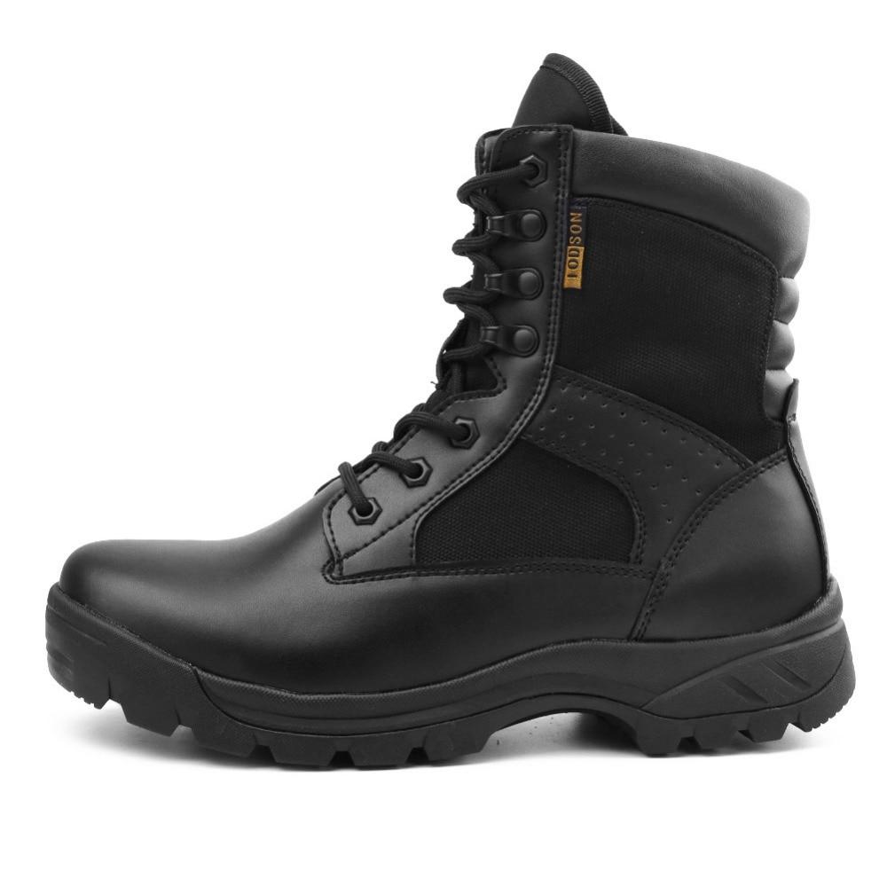 Homens De Combate Ao Sapatos Do Militares Respirável Botas Couro Exército Neve Black Livre Ar Táticas Novos Moda Preto Ids672 RdOw17qR