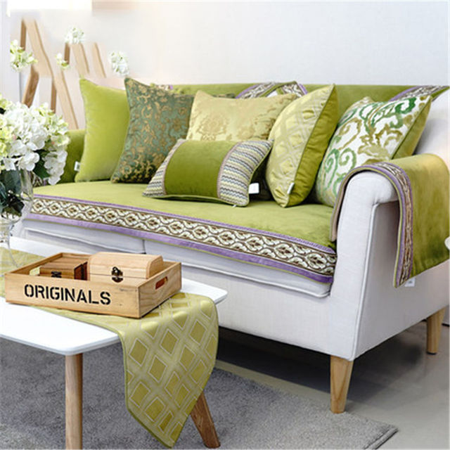 Sofa Cushion Pillow Capaalmofada Foam Filler Cushions For Sofas Decorative Home Decor Plaid Donut